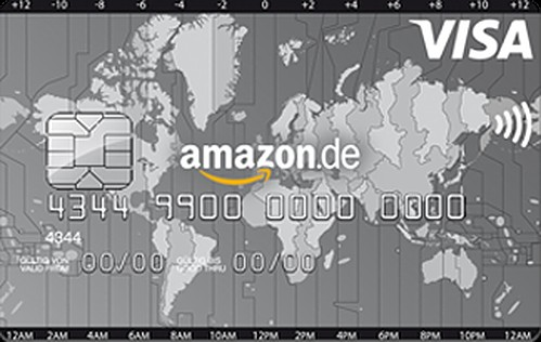 Bild Amazon Visa Kreditkarte