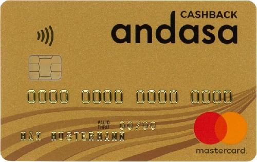 Bild Andasa MasterCard Gold