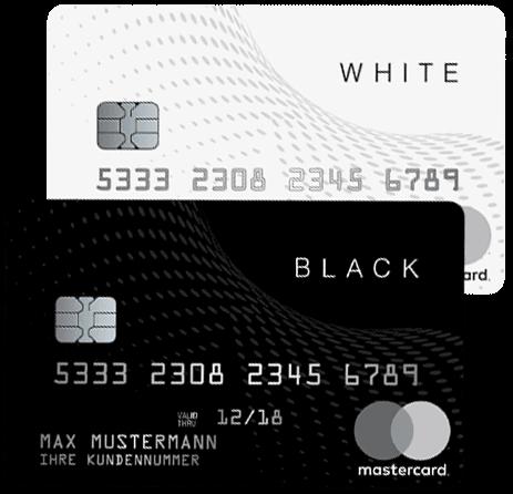 black&white Mastercard