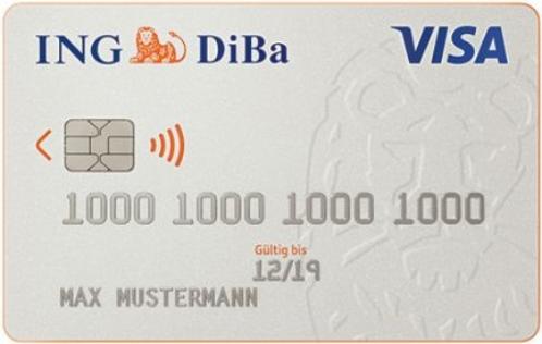 Bild ING Visa Card