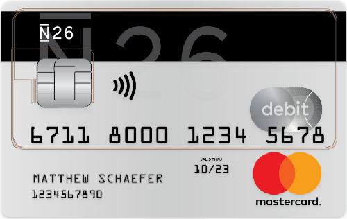Bild N26 Kreditkarte