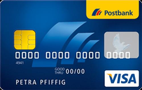 Bild Postbank Visa Card Prepaid
