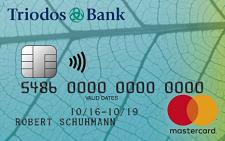 Nachhaltige Kreditkarte Triodos Bank