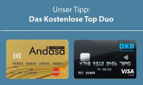 Beste Kreditkarten DKB Andasa
