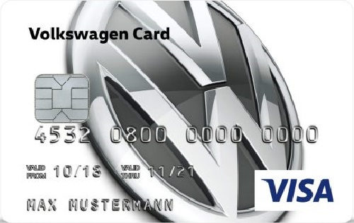 Bild Vokswagen Visa Card pur