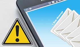 Phishing Mail Erkennen Warnung