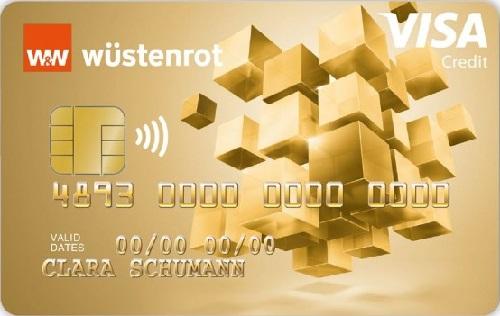 Bild Wüstenrot Visa Gold Kreditkarte