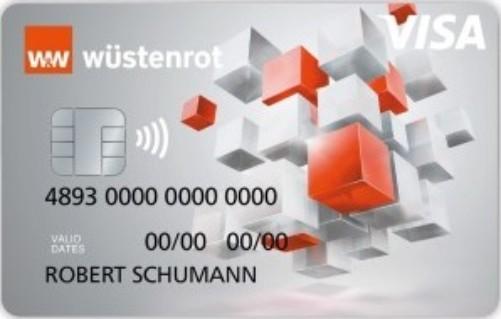 Bild Wüstenrot Visa Prepaid