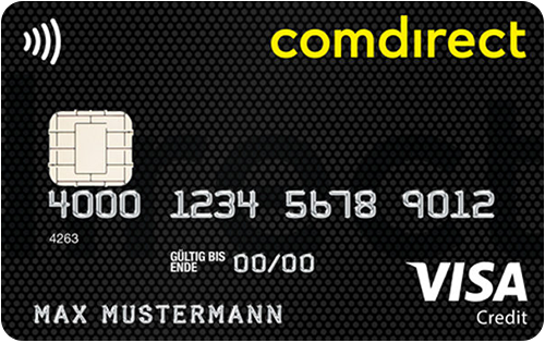 Bild comdirect VISA Card