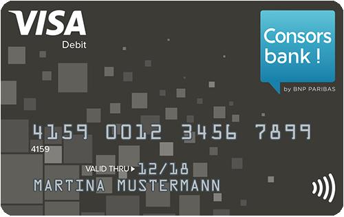 Bild Consorsbank VISA-Card