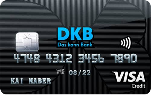Bild DKB Visa Kreditkarte