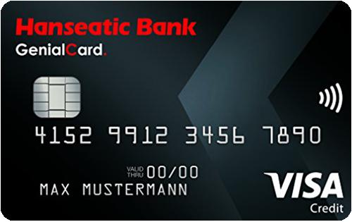 Bild GenialCard Kreditkarte