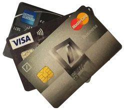 Bild Kreditkarten Vergleich