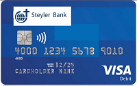 Steyler Bank VISA Card