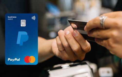 paypal business debit mastercard